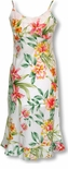 Summer Flourish Women's Long Slip Dress