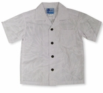 Summer Breeze Boy's Wedding White Shirt