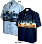 Sunset Palm Horizons Men's Shirt