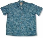 Surf and Turf Men's Paradise Found cotton shirt
