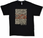 Surf Palm Hawaiian Islands t-shirt