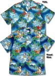 Surf's Up Men's aloha Shirt