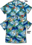Surf's Up Men's cotton aloha Shirt