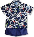 Surfboad Lei II Boy's 2pc Set