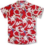 Hawaiian Surfboad Lei boy's 2pc set