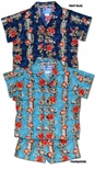 Surfboard Hibiscus Woodie panel boy's 2pc set