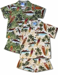 Diamond Head Surfboard Boys Cabana Set