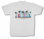 Surfboard Shack Cotton Tee Shirt