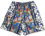 Surfboard Woodie men's & boy's cargo shorts