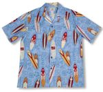 Surfboards Hawaii Icons Men's cotton aloha Shirt