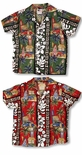 Surfboards Woodie Boy's Hawaiian Clothing Cabana Set