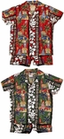 Surfboards Woody boy's 2pc made in Hawaii cotton cabana set