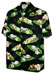 Sushi men's cotton hawaiian aloha shirt
