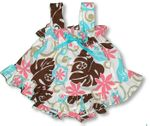 CLOSEOUT Tahitian Flower Girl's Ruffle 2pc