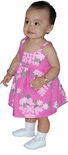 CLOSEOUT Tahitian Gardenia Girl's Bungee Dress
