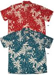 Tahitian Gardenia men's paradise found shirt 5X & 6X sizes