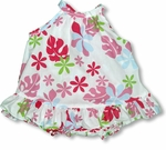 Tahitian Summer Breeze girl's halter 2pc set