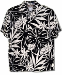 April Blooms men's matching family print in rayon