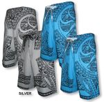Tapa Tats (HIC) Hawaiian Islands Creations Boardshorts