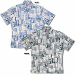 Tapa Tiki Ukulele Men's Reverse Print Shirt - SOLD OUT