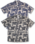 Tapa Tradition men's Hawaiian shirt