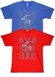 Tatau Moo tattoo design mens cotton t-shirt
