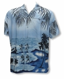 The Tropical Dance Men's Terivoile Rayon Shirt