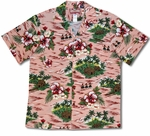 Three Hula Girl Village men's islander