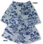 Throw Net Bamboo Boxer Cotton Polynesian Print Shorts
