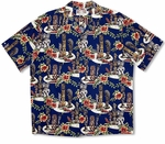 Tiki Gods Paradise Cotton Rayon Blend Shirt