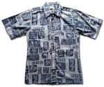 Tiki Tonal Men's Reverse Shirt