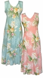 Timeless Summer women's tea length sleeveless dress