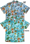 Hawaiian Island Vacation men's aloha shirt