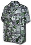 Traditional Blocks Men's Shirt