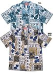 Traditional Hawaiian Symbols men's shirt