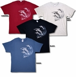 Tribal Dolphin Hawaiian islands T-Shirt