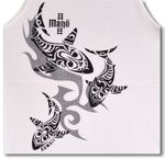 Tribal Mano (Sharks) cotton Tank Top