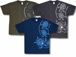 Sea Tribal Tattoo turtle island cotton T-Shirt