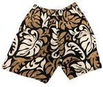 Tropcial Leaf Monstera Shorts