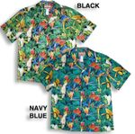 Tropical Parrot Paradise Toucan Men's Shirt