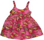 CLOSEOUT Tropical Fish Turtle Girl's Bungee Dress