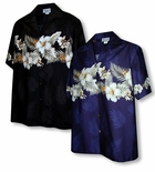 Tropical Garden Men's Chest Band Shirt