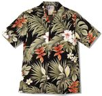 Tropical Garden men's 4X shirt