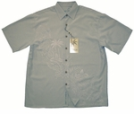 Tropical Leisure Men's Embroidered Shirt