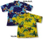 Tropical Love Birds Men's Shirt