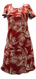 Tropical Paradise women's a line cap sleeve dress