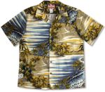 CLOSEOUT Tropical Surf Men's Shirt