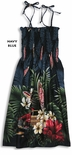Tropical Surfboad Woodie Women's Tube Dress