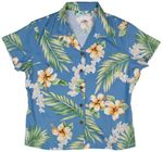 Tuberose Womens Fitted Blouse