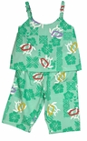 Turtle Hibiscus Girl's Pant Set Kole Kole Label by RJC
